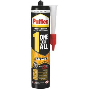 Pattex One for All Express Klebe- und Dichtmasse PXFEW 390g