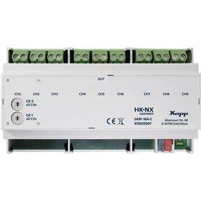 Kopp HK NXconnect 970205007 Schaltaktor 9-Kanal NX SA9F-16A-C