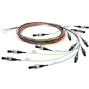 Telegärtner Glasfaser LWL Anschlusskabel 1x SC-Stecker 1x offene Kabelenden 50 125 u Multimode