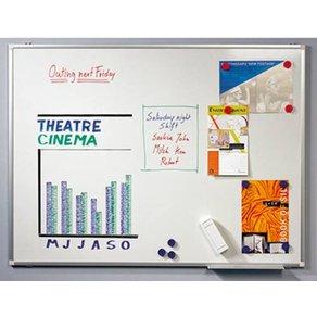 Legamaster Whiteboard PREMIUM PLUS B x H 90cm 60cm Weiß emaillebeschichtet Querformat Inkl Ab