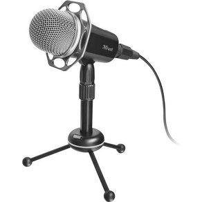 Trust Radi PC-Mikrofon Schwarz Kabelgebunden Standfuß