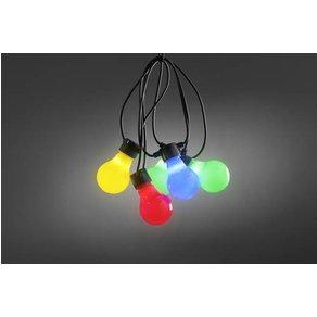 Konstsmide 2388-520 Party-Lichterkette Aussen EEK LED A E netzbetrieben Warm-Weiss Beleuc