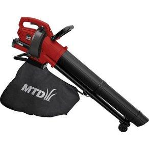 MTD Products BLBV40 Akku Laubbläser Laubsauger Laubhäcksler ohne Akku fahrbar 40V