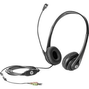 HP PC-Headset 3 5mm Klinke schnurgebunden Business V2 Over Ear Schwarz