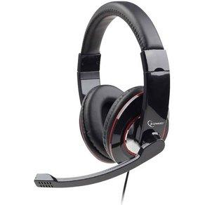 Gembird PC-Headset USB schnurgebunden MHS-U-001 Over Ear Schwarz