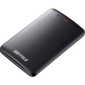 "Buffalo MiniStationa""¢ Slim Externe SSD-Festplatte 6 35cm 2 5 Zoll 480GB Schwarz USB 3 1"