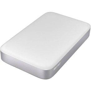 "Buffalo MiniStationa""¢ Thunderbolt Externe SSD-Festplatte 6 35cm 2 5 Zoll 128GB Silber"