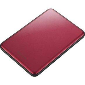 "Buffalo MiniStationa""¢ Slim Externe Festplatte 6 35cm 2 5 Zoll 2TB Rot USB 3 0"