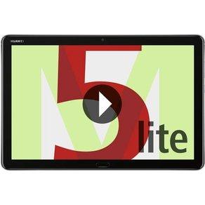 Huawei Mediapad M5 Lite Android-Tablet 25 7cm 10 1 Zoll 32GB Wi-Fi Grau 1 7GHz 2 4GHz Kirin Andro