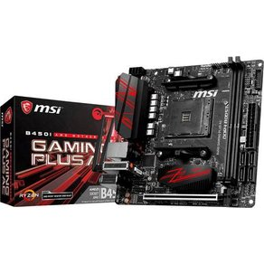 MSI Gaming B450i Plus AC Mainboard Sockel AMD AM4 Formfaktor Mini-ITX Mainboard-Chipsatz AMDÂ
