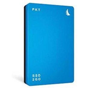 "Angelbird SSD2go PKT Externe SSD Festplatte 256GB Blau USB-Ca""¢ USB 3 1"