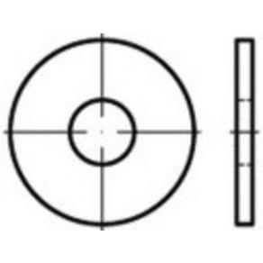 TOOLCRAFT TO-5433909 Unterlegscheiben 20mm ISO 7435 Stahl 100St