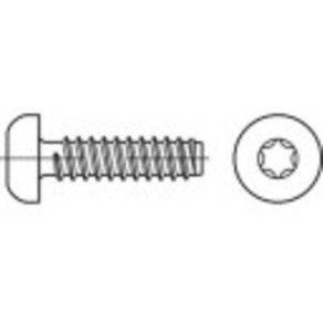 TOOLCRAFT TO-5441136 Blechschrauben 45mm Innensechsrund ISO 14585 Stahl galvanisch verzinkt 250St