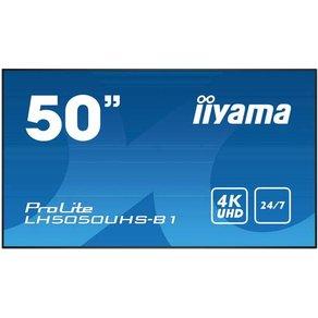 Iiyama ProLite LH5050UHS-B1 LED-Monitor 127cm 50 Zoll EEK C A E 3840 x 2160 Pixel 4K 8 ms Di