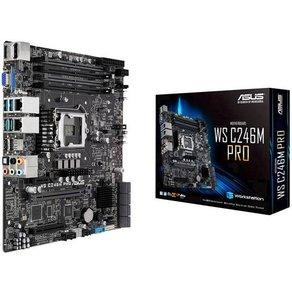 Asus MB WS C246M PRO C246 PCH Mainboard Sockel Intel1151 Formfaktor Micro-ATX Mainboard-Chipsatz