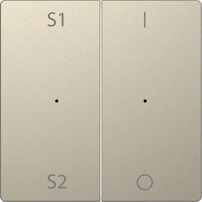 Merten Abdeckung Wechselschalter System Design Sahara MEG5228-6033