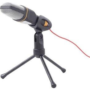 Gembird MIC-D-03 PC-Mikrofon Schwarz Kabelgebunden inkl Stativ