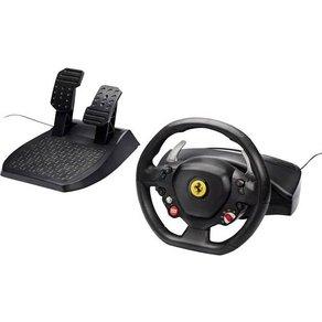 Thrustmaster Ferrari 458 Italia Lenkrad USB 2 0 PC Xbox 360 Schwarz inkl Pedale