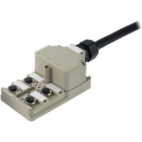 Weidmüller Sensor Aktor-Passiv-Verteiler SAI-4-MF 5P PUR 10M Inhalt 1St