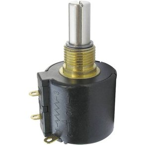 Bourns 3549S-1AA-202A Präzisions-Potentiometer Wirewound 10-Gang Mono 2W 2kΩ 1St