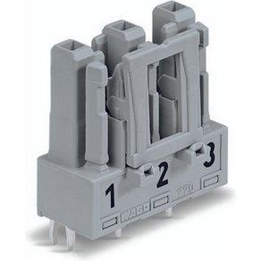 WAGO Netz-Steckverbinder WINSTA MIDI Serie Netzsteckverbinder Buchse Einbau vertikal