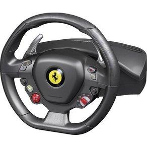 Thrustmaster Ferrari 458 Italia Racing Wheel Lenkrad USB PC Xbox 360 Schwarz inkl Pedale