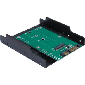 INTER-TECH IT88885370 Trägerrahmen M 2 SATA Festplatte SSD 3 5