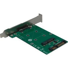INTER-TECH IT88885373 Trägerkarte für SATA Festplatte SSD
