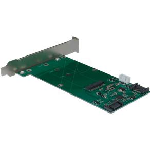 INTER-TECH IT88885379 Trägerkarte für M2 SATA Festplatte SSD Eingang