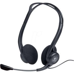Logitech PC960 Headset USB Stereo