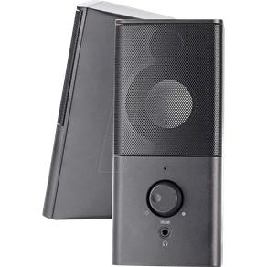 Nedis N GSPR10020BK Lautsprecher PC Laptop Stereo Gaming 3 5-mm-Klinke