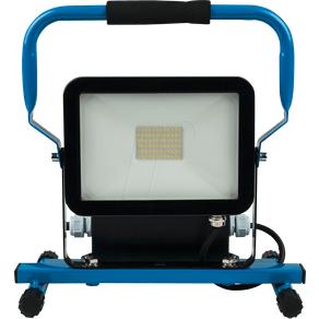 HEITRONIC HEIT 37327 LED-Baustrahler Norwich 30 W 2600 lm 6400 K blau