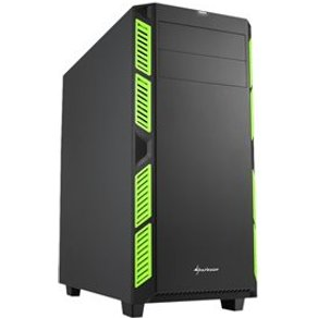 Sharkoon pc- gehäuse ai7000 green
