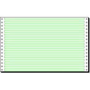 Sigel edv-papier 8x330mm mit leselinien und längsperforation ve 2000 b