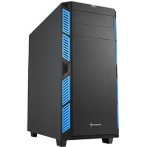 Sharkoon pc- gehäuse ai7000 blue