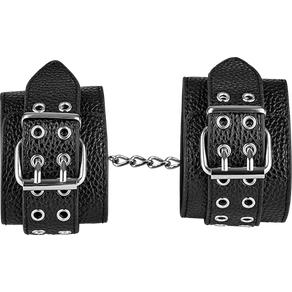 Breite Handfesseln in Leder-Design