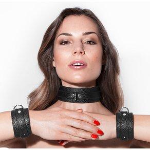 Halsband mit Fesseln, 8 Teile