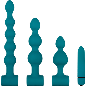 Adam & Eve 'Vibrating Bumpy Bead Set', 4 Teile