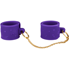 Silikon-Handschellen mit Schnappverschluss