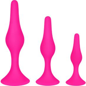 Blush Novelties 'Beginner Plug Set', 8,5 - 13,5 cm, 3 Teile