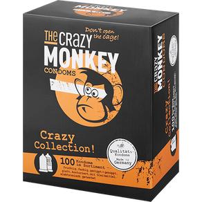 The Crazy Monkey 'Crazy Collection', 52 mm, 100 Stück
