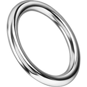Rimba Nahtloser Eisen-Penisring 3 5 cm