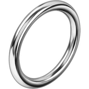 Rimba Nahtloser Eisen-Penisring 4 5 cm
