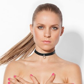 Rimba Schmales Leder-Halsband