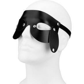 Rimba Leder-Maske mit variablen Augenpartien