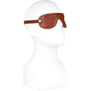 Rimba Leder-Maske mit weichem Polster