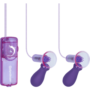 Fetish Fantasy 'Vibrating Nipple Pumps'