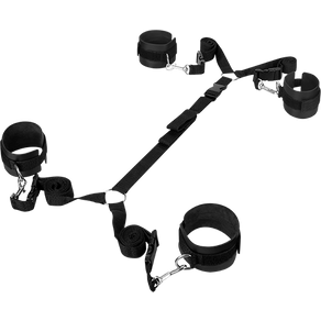 Guilty Pleasure 'Luxurious Bed Restraint Cuff Set', 3 Teile