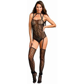 Dreamgirl Eleganter Straps-Bodystocking