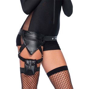 Leg Avenue Sexy Polizei-Gürtel mit Beingurt